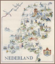 Classic - Kaart van Nederland