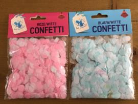 Baby confetti (voor geslacht onthulling ballonnen)
