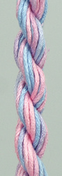 WATERLILIES SKY BLUE PINK - THE CARON COLLECTION