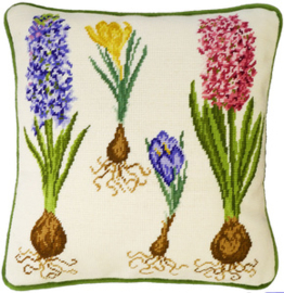 BORDUURPAKKET HANNAH DALE -  HYACINTH AND CROCUS  - BOTHY THREADS