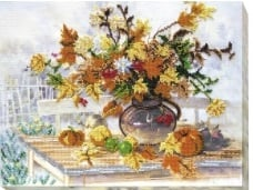KRALEN BORDUURPAKKET  AUTUMN BOUQUET - ABRIS ART