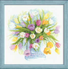 PREMIUM COLLECTIE RIOLIS -  WATERCOLOUR TULIPS