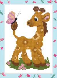 DIAMOND PAINTING LITTLE GIRAFFE - FREYJA CRYSTAL