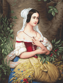 THE GLEANER (petit point)