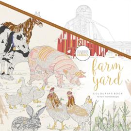 KAISER COLOURING BOOK - FARM YARD - 40 boerderij thema ontwerpen
