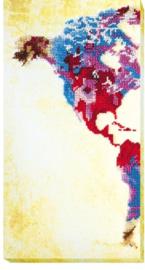 KRALEN BORDUURPAKKET WORLDMAP (1) - ABRIS ART
