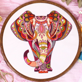 Elephant - Embroidery (Olifant)