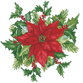 DIAMOND DOTZ FESTIVE BOUQUET - NEEDLEART WORLD