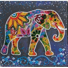 KRALEN BORDUURPAKKET Elephant -ABRIS ART