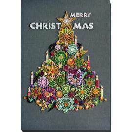 KRALEN BORDUURPAKKET MERRY CHRISTMAS - ABRIS ART