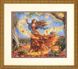 FALL FAIRY - Dimensions (GOLD collection)
