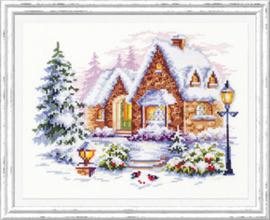 BORDUURPAKKET WINTER HOUSE- CHUDO IGLA (MAGIC NEEDLE)