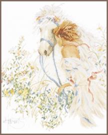 Romance - Paard en Bloemen