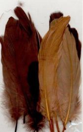 Veren bruin mix 12,5-17,5 cm 15 ST