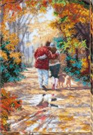 KRALEN BORDUURPAKKET WALK IN THE PARK - ABRIS ART