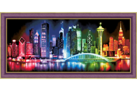 DIAMOND PAINTING KIT SHINING CITY AZ-1602