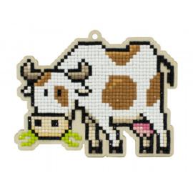 Setje met houten figuurtje DP LITTLE COW