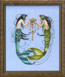 MATERIAALPAKKET THE TWIN MERMAIDS - MIRABILIA DESIGNS