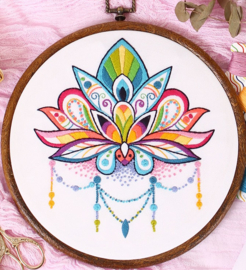 Lotus - Embroidery (Lotus)