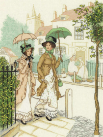 BORDUURPAKKET WALKING LADIES - PANNA
