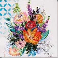 KRALEN BORDUURPAKKET FLOWER EXTRAVAGANZA - ABRIS ART
