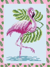 DIAMOND PAINTING FLAMINGO - FREYJA CRYSTAL