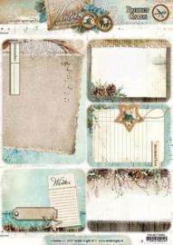 Studio Light Project Cards A4 Winter Memories 03