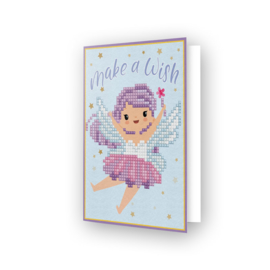 DIAMOND DOTZ GREETING CARD MAKE A WISH - NEEDLEART WORLD