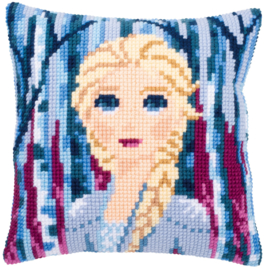 KRUISSTEEKKUSSEN KIT DISNEY FROZEN 2 ELSA