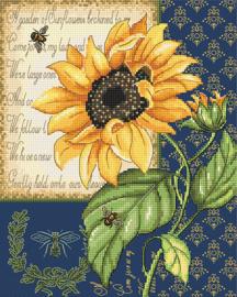 Borduurpakket LETI 998 Sunflower Melody
