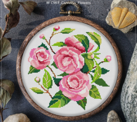 BORDUURPAKKET CAMILLEA FLOWERS - C963 VANAF 10,95