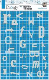 Pronty Chipboard Letters Frame A5