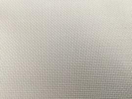 Borduurstof Evenweave  WIT per meter 28 count (5,5 kruisje per cm)