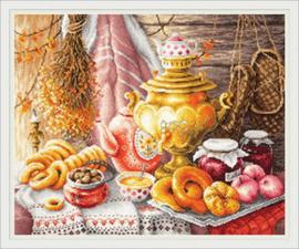 BORDUURPAKKET TEA TIME - CHUDO IGLA (MAGIC NEEDLE)