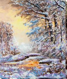 KRALEN BORDUURPAKKET CRYSTAL WINTER - ABRIS ART