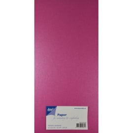 Metallic Cardstock 15 x 30 cm (pak van 20) lila