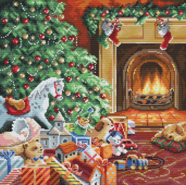 Borduurpakket LETI 8009 Cozy Christmas