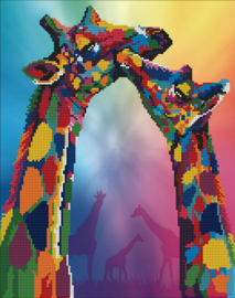 DIAMOND ART GIRAFFES - LEISURE ARTS