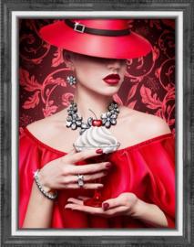 Cherry Lady (30 x 40 cm)