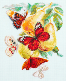 BUTTERFLIES AND PEARS
