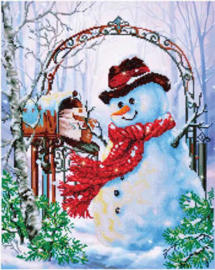 DIAMOND DOTZ FATHER SNOW - NEEDLEART WORLD