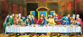 VOORBEDRUKT BORDUURPAKKET THE LAST SUPPER - NEEDLEART WORLD