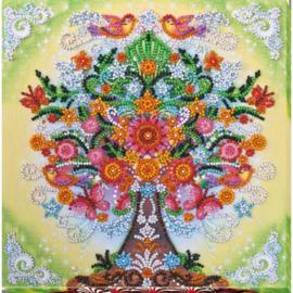 KRALEN BORDUURPAKKET FABULOUS TREE - ABRIS ART