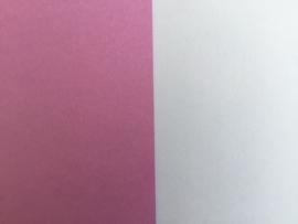 DUO Scrap karton 30 x 30 cm paars/lila