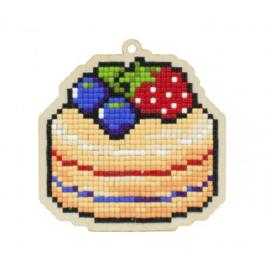 Setje met houten figuurtje DP CAKE