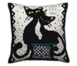 Borduurpakket Love Cats - Collection d'Art