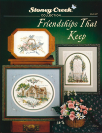 BORDUURPATROON  (booklet) FRIENDSHIPS THAT KEEP - STONEY CREEK