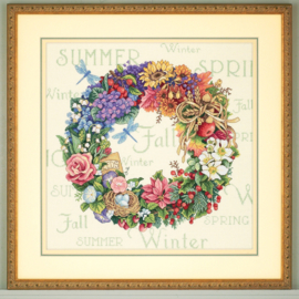 WREATH OF ALL SEASON - Dimensions (GOLD collection)