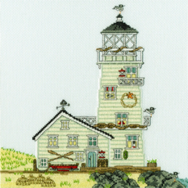 CROSS STITCH KIT SALLY SWANNELL - NEW ENGLAND: THE LIGHTHOUSE - BOTHY THREADS