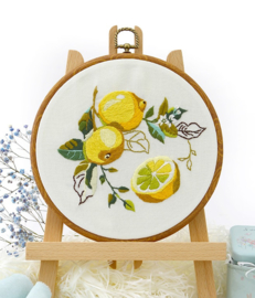Lemon - Embroidery (Citroen)